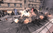 T-90 being destroyed by A-10 MW3