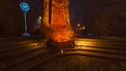 Gniew starozytnych ogien grobowiec