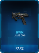 L-CAR 9 Spark Supply Drop Card BO3