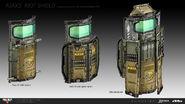 Black Ops 4 Ajax's Ballistic Shield Concept Art
