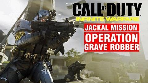 Call of Duty Infinite Warfare JACKAL Mission - Operation GRAVE ROBBER Campaign Gameplay Walkthrough