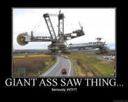 Personal Giant saw thing