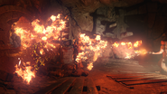 Staff of Fire blast Origins BO3
