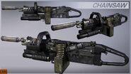Chainsaw Render CoDG
