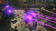 Raygun Mark II-Z blast Zombie effects BO4