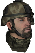 TF141 Desert Head B MW2