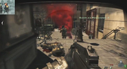 MW3 Enemy AC130 Support Marker