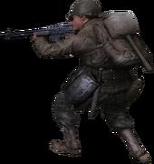 BAR 3rd person Ranger CoD2