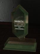 Struck Down Legend of Zelda trophy CoDG