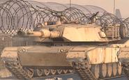 Front view Abrams S.S.D.D. MW2