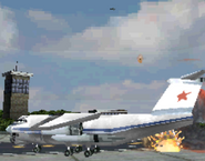 Russian Transport and AC-130 MW3DS