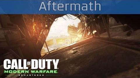 Call of Duty 4 Modern Warfare Remastered - Aftermath Walkthrough HD 1080P 60FPS