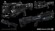 Reaver Rodeo 3D model concept IW