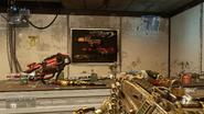 Red minigun map Chop Shop AW