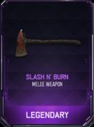 Slash N' Burn Supply Drop Card BO3