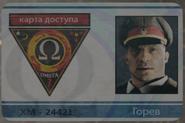 Gorev's ID Badge Intel Front BOCW