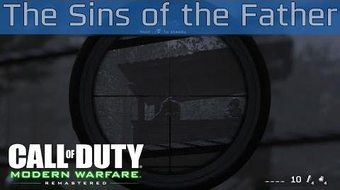 Call of Duty 4 Modern Warfare Remastered - The Sins of the Father Walkthrough HD 1080P 60FPS