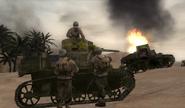 Vic and Hawk tank commander CoD2 BRO