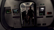 Harper and Salazar on plane BOII