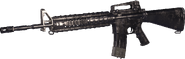 M16A4 Nickel Plated MWR