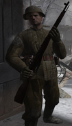 Guarding Soviet CoD2