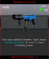 HVR Zombies Unlock Card IW