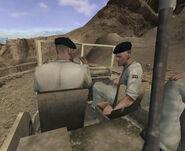 CoDFH A Desert Ride opening cutscene