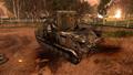Разбитая артиллерия клюквенных русских 3