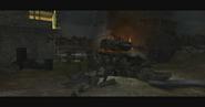 Destroyed Tiger I CoD3