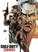 Edward Richtofen Yoji Shinkawa Poster BO3