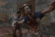 Two Chinese Zombies on Die Rise