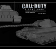 CoDFH Tiger II Wireframe