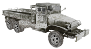 GMC CCKW cut model open WaW