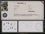Hunter Operator Bio BOCW