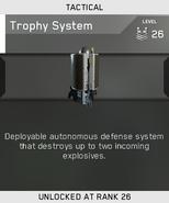 Trophy System Unlock Card IW