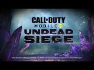 Call of Duty®- Mobile - Announcing Undead Siege