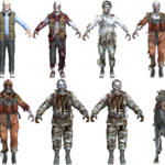 Call of the Dead zombie character models BO.png