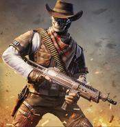 Ghost Cowboy CODM