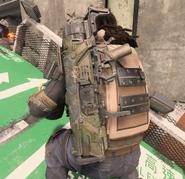 Call of Duty Black Ops 4 Инферно за спиной игрока