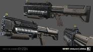 Reaver 3D model concept IW