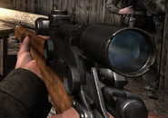 Scoped Lee-Enfield CoD 3