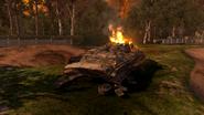 Разбитая артиллерия клюквенных русских 1