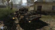 Cod mw 2 MP Overgrown Destroyed BMP-2