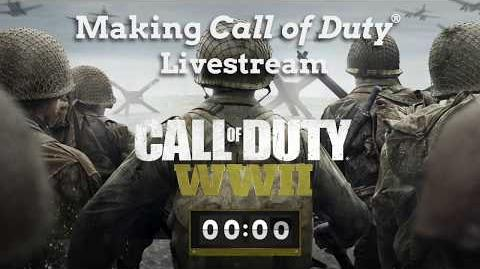 Making Call of Duty® WWII Livestream