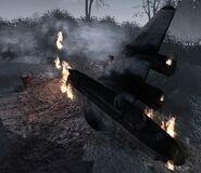 Nacht der Untoten crashed B-17 WaW
