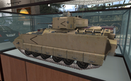 Bradley model Museum MW2