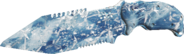 Combat Knife Frosted IW