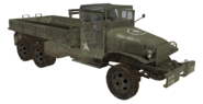 GMC CCKW model open WaW