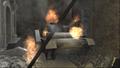 Destroyed Panzer IV CoD WaW FF