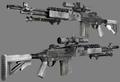 M14EBR 3D MW2